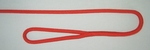 "3/8"" X 4' NYLON DOUBLE BRAID FENDER LINE - RED"