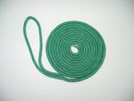 "3/8"" X 60' NYLON DOUBLE BRAID SPRING LINE - GREEN"