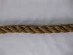 "3/4"" 3-Strand Twisted Manila - Natural"
