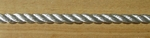 "3/8"" X 600' 3-Strand Twisted Polyester - Solid White"