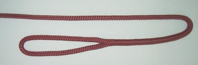 "3/8"" X 4' NYLON DOUBLE BRAID FENDER LINE - BURGUNDY"
