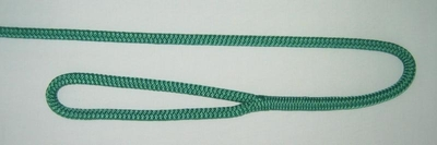 "3/8"" X 4' NYLON DOUBLE BRAID FENDER LINE - GREEN"