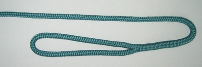 "3/8"" X 6' NYLON DOUBLE BRAID FENDER LINE - TEAL"