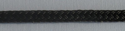 "1"" Double Braid Nylon - Black"