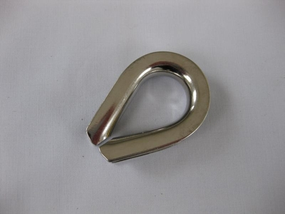 "1/2"" Stainless Steel Thimble"